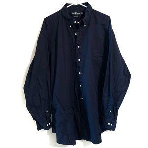 RALPH LAUREN button down shirt Blue Tag